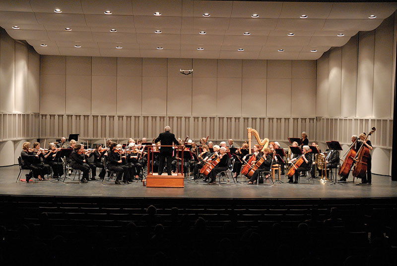 Civic Orchestra of Tucson performing at Crowder Hall