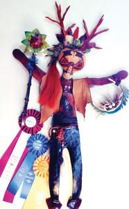 Prize winning Spirit Figure Margot