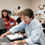 Linda Milder, Patricia Weaver and Nancy Riordon