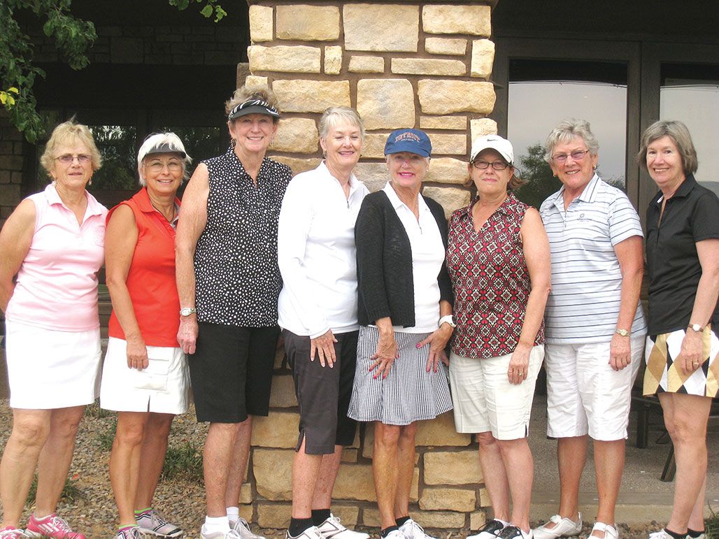 Left to right: Joann Salazar, Kathy Stotz, Nancy Hoppe, Bonny Wilcox, Cheryl Colliyer, Cheryl Opsal, Nancy Diefenthaler and Karen Nasman