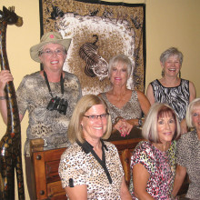 Left to right, back row: Marci Yenerich, Cheryl Collyer and Mary Lynne Fischer; front, Rose Welliver, Sherry Gall and Cheri Sipe