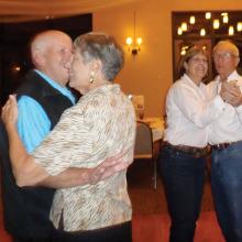 Tom and Bernie Sullivan and Marge and Joe Knable