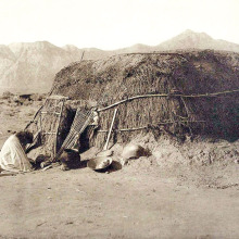 Pima Ki (House) 1907. Photo by Edward S. Curtis courtesy of the US Library of Congress archives.