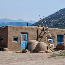 Second Place: Pete Murphy - Taos Pueblo