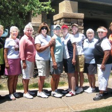 QCLGA Partners Match Play Tournament winners