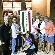 Left to right: Deb Dunipace, Yvonne Labrec, Pam Daum, Nancy Sage, Sheila Sipple, Karen West and Nancy Wayne