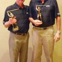 Gordy Johnson and his guest Brian Ashe won the Sam Snead Flight at the thirteenth annual Quail Creek Men's Golf Association Member/Guest Invitational Tournament.