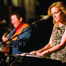 Sabra Faulk and Amber Norgaard will rock the house at TWOQC brunch; photo supplied by Amber Norgaard.