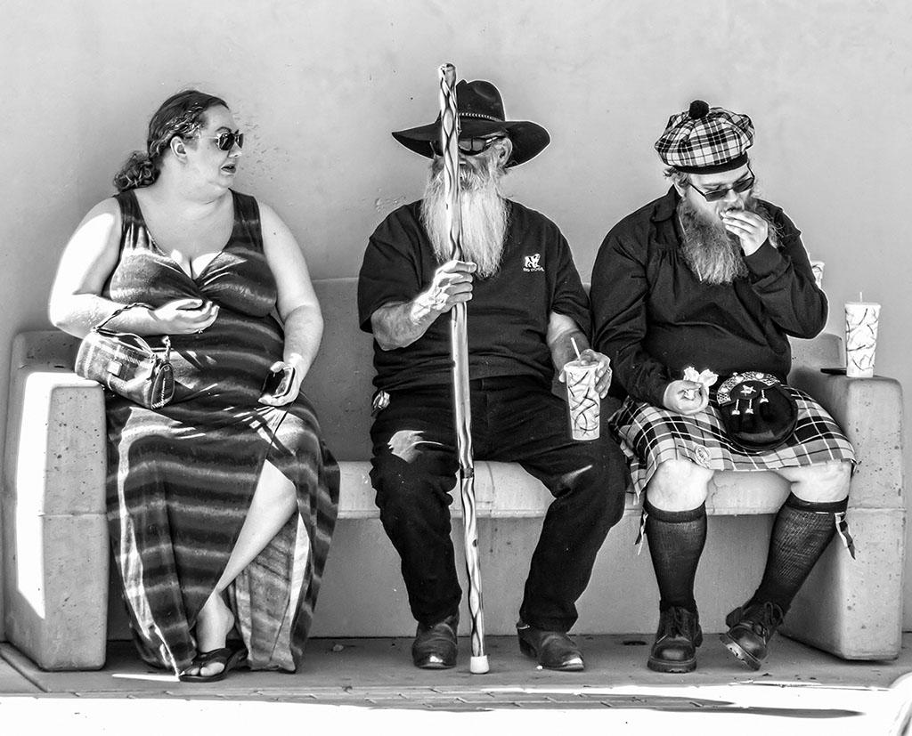 First Place: Jim Burkstrand, Tucson Celtic Festival