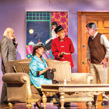 Lend Me A Tenor was a smash hit for the Quail Creek Performing Arts Guild in the spring of 2015.
