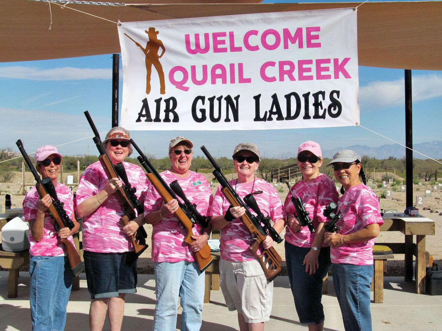 Left to right: Sheila Wyllie, Sharon Hill, Sue Scott, Eileen Sykora, Diane Nickolas and Joanne Nash