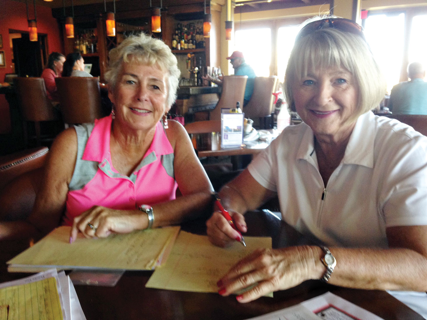Patti Zatkin and Pat Crane, co-chairs