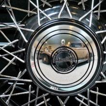 Patricia Thoresen: A Franklin hubcap
