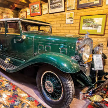 Jim Burkstrand: 1931 Franklin Speedster