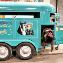Patricia Thoresen: Duncan Renaldo's horse trailer for Diablo