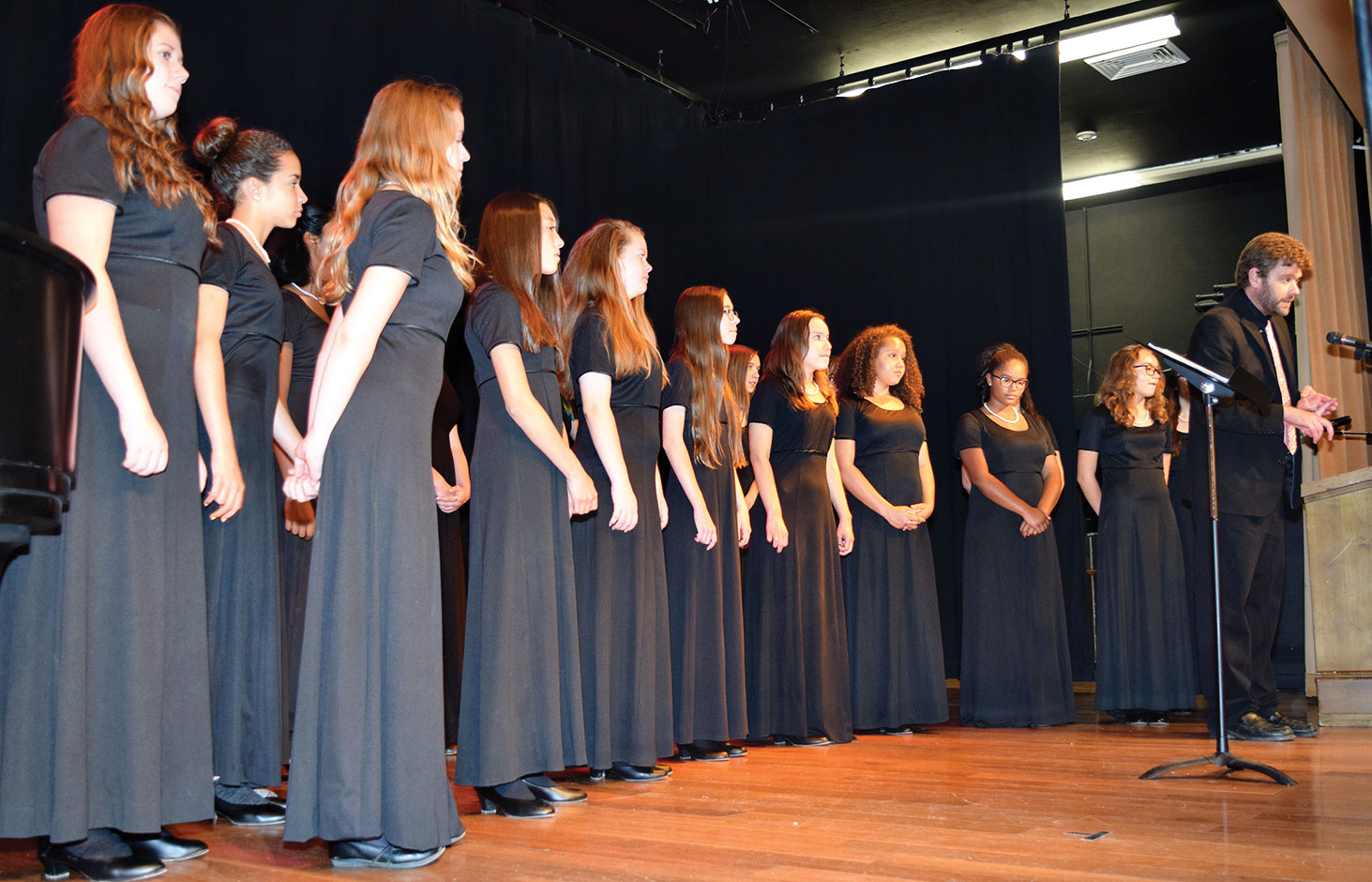 The Jubilate Choir under the direction of Dr. Fresolone