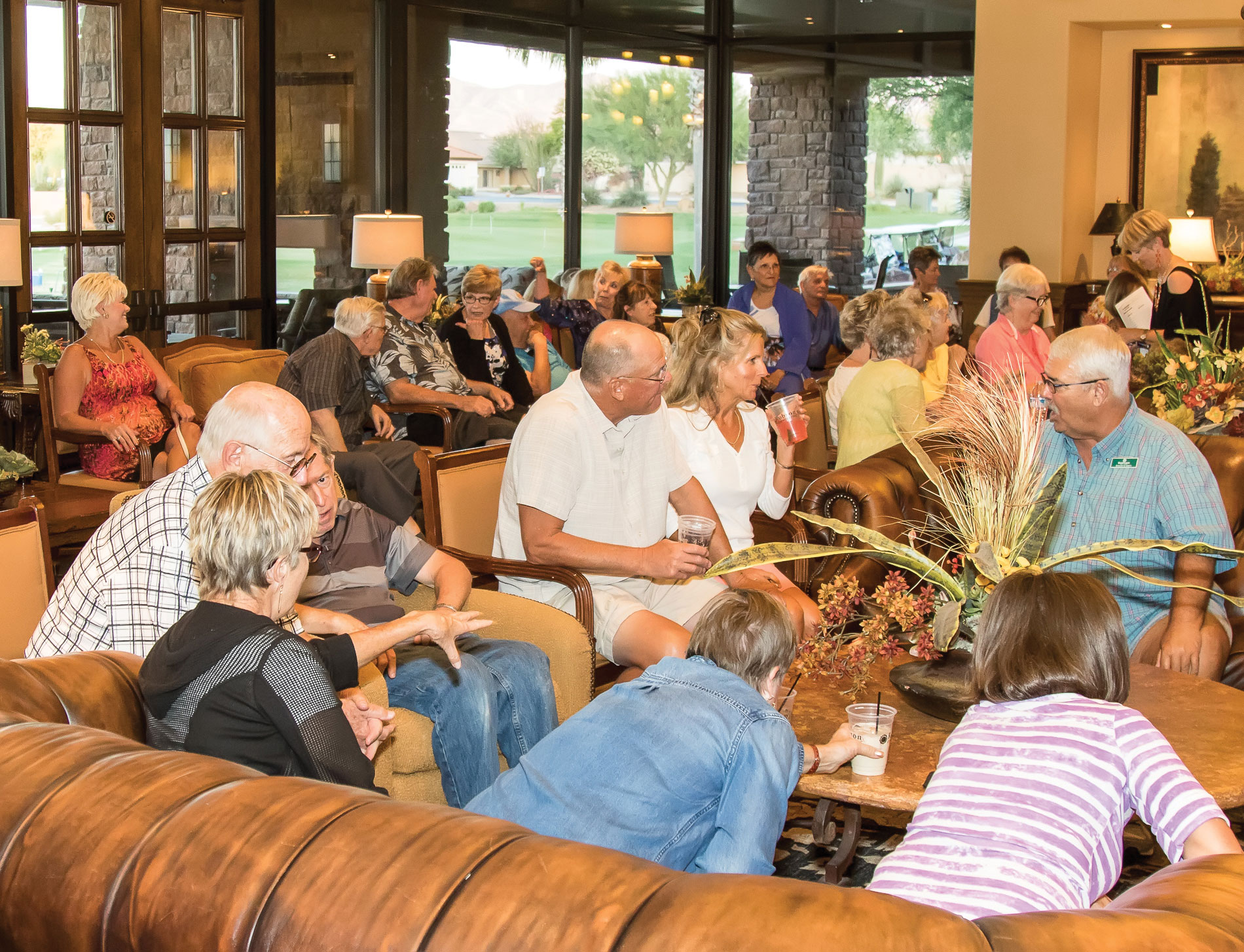 PAG supporters enjoying the music, the challenge and the camaraderie at Musical Trivia Night; photo by Jeff Krueger