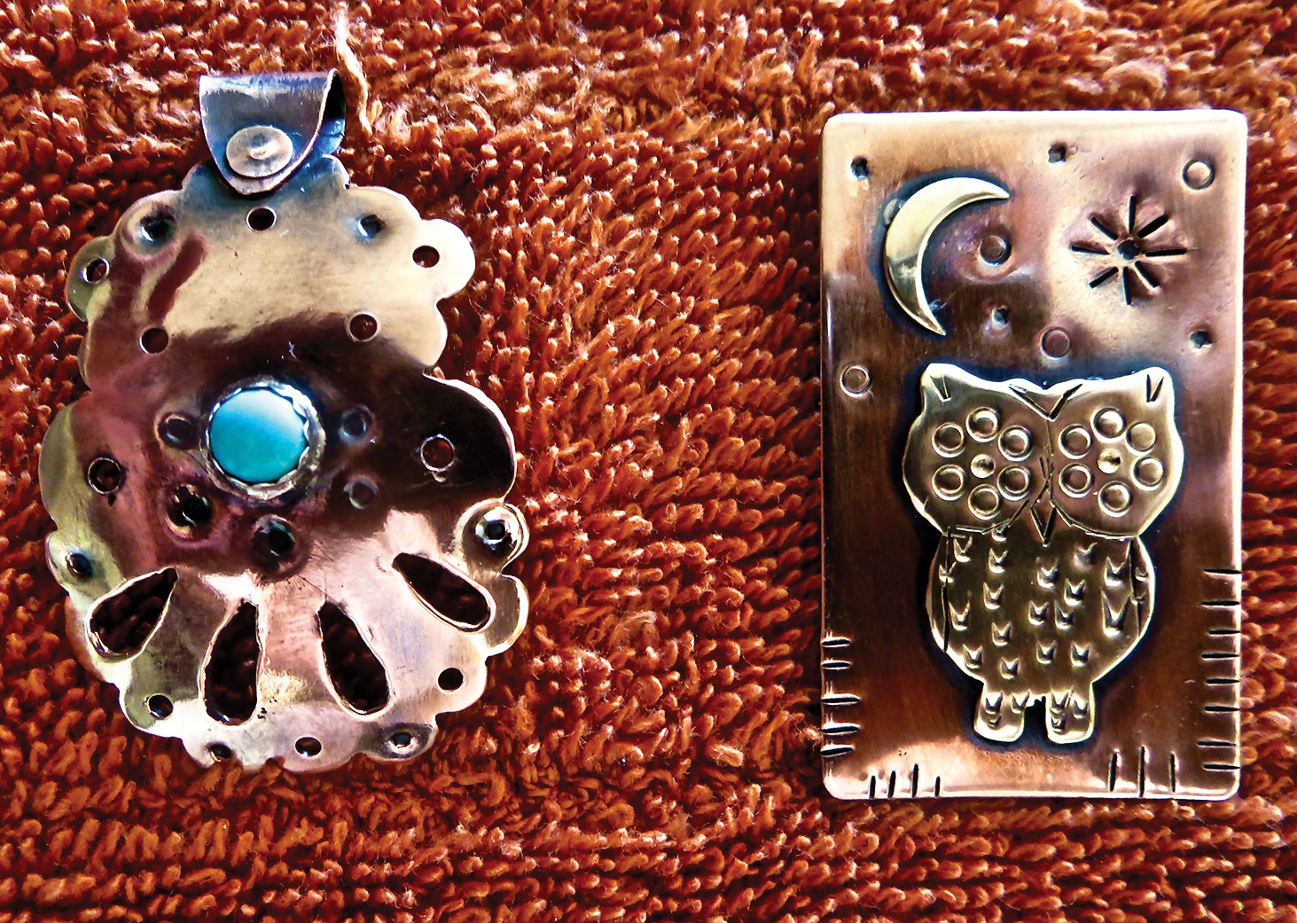 Marj Berra's Silver with Turquoise Cabochon