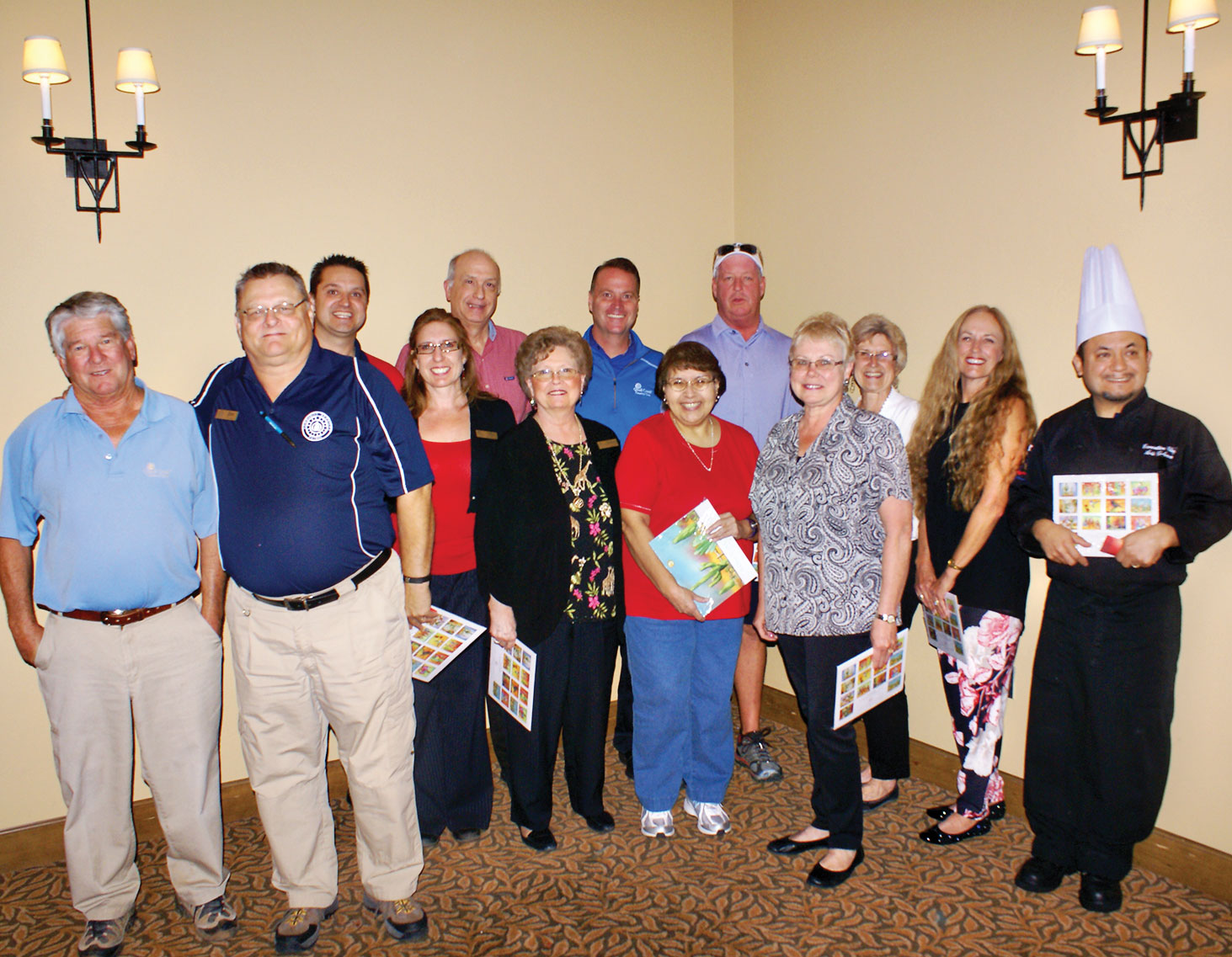 Some employees gather for a photo at the 2015 Employee Appreciation Event. We are asking for your help to make our 2016 event even better!