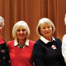 Lady 9er 2016 winners: Patty Zatkin, Cheri Sipe, Pat Crane, Diane Hernandez