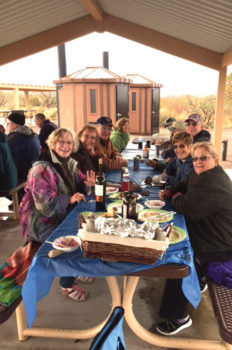 New Year's campout at Roper Lake