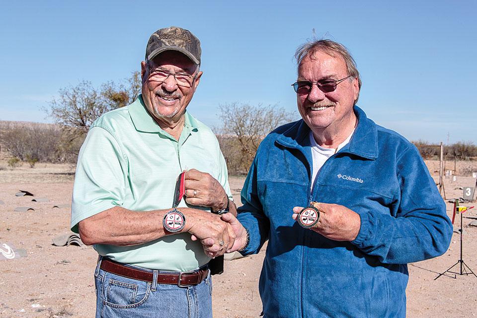Jack Mercer, left, with Mike Schlesinger