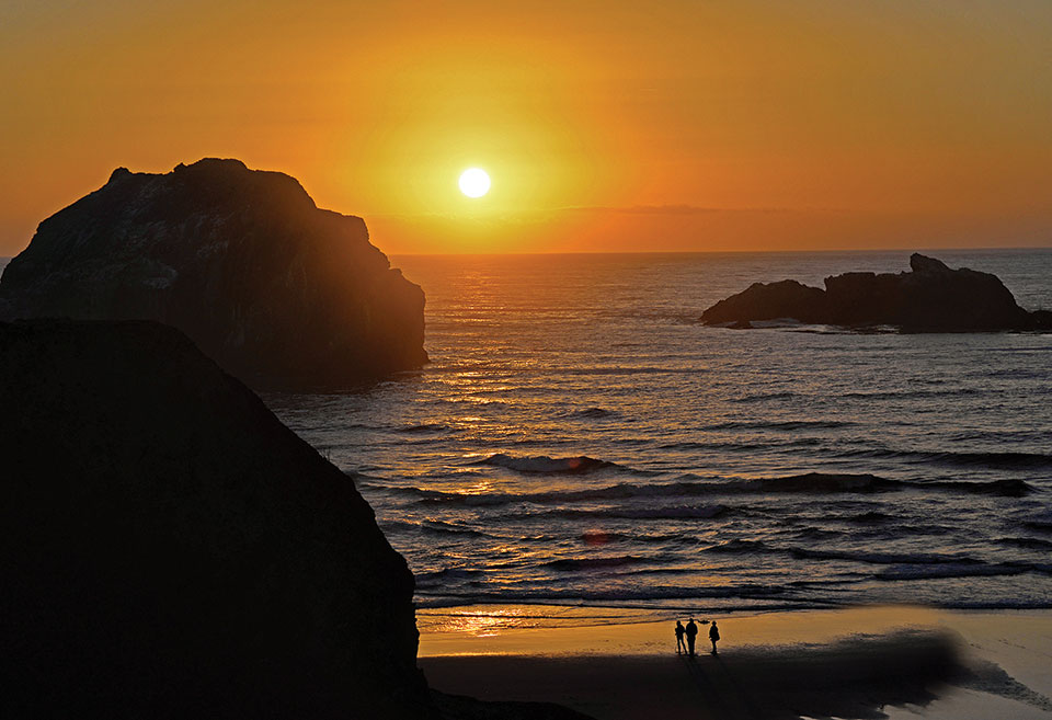 Second Place, Face Rock At Sunset, by Lauren Hillquist