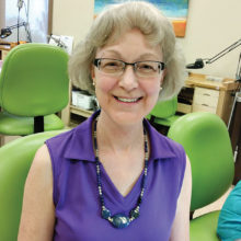 Jeanne Smith's Basic Bead Stringing necklace and earrings