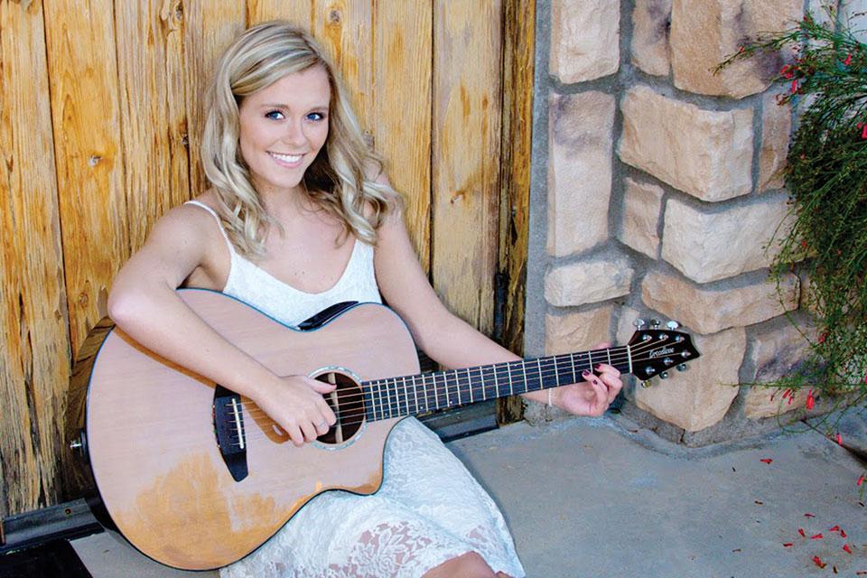 Singer-songwriter Kaylor Cox
