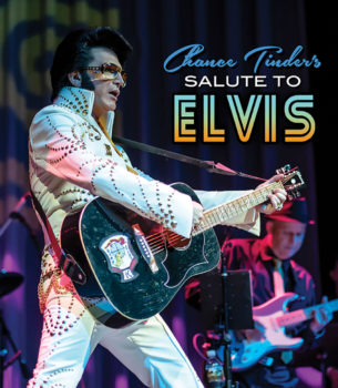 Chance Tinder has been part of the Elvis phenomenon since the 80s.