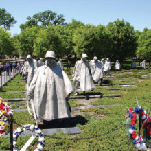 Korean War Memorial in Washington, D.C.