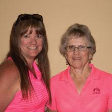 Flight 3 Low Gross winners Donna Ward and Joanne Salazar