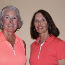 Flight 2 Low Net winners Chris Gould and Kathy Stefanon
