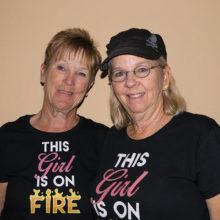 Flight 1 Low Gross winners Karen Stensrud and Peggy Sullenberger