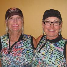 Cheryl Collyer and Kathy Stotz