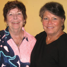 Gail Phillips and Sharon Hayes