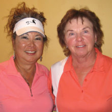 Karen Callen and Sharon Bisping