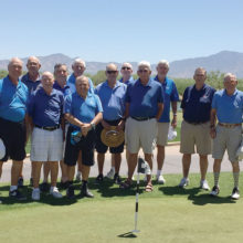 Left to right: Paul Schupmann, Rick Sutton, Tom England, Neal Smith, Tim Phillips, Stu Minuskin, Paul Salazar, Jim Lynch, Steve Spencer, Jack Moberg, Howard Hueisel and Robert Marshall. Missing from team photo were Jim Topolski, Paul Simpson and John McGee.
