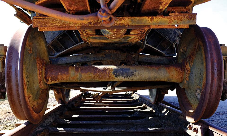 Wheels of Steel by John O'Rourke placed second.