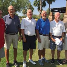 Left to right: Ron Parle Flight 6, Rick Sutton Flight 5, Larry Laughman Flight 3, Wally Howard Flight 1, Bill Hoppe Flight 2 and Jerry Hutcheson Flight 4