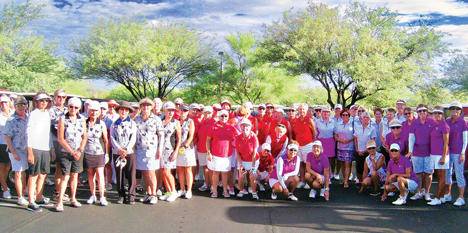 Interclub tournament participants; photo by Terri Erickson