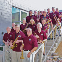 The Big Band sounds of Green Valley; photo by Lance Hoopes