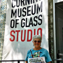 Resident Laura Andrew recently enjoyed the Corning Museum of Glass in New York.