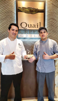 "Jose ""Omar"" Martinez, Banquet Chef and Jonathan Posada Perez, Dishwasher/Cook"