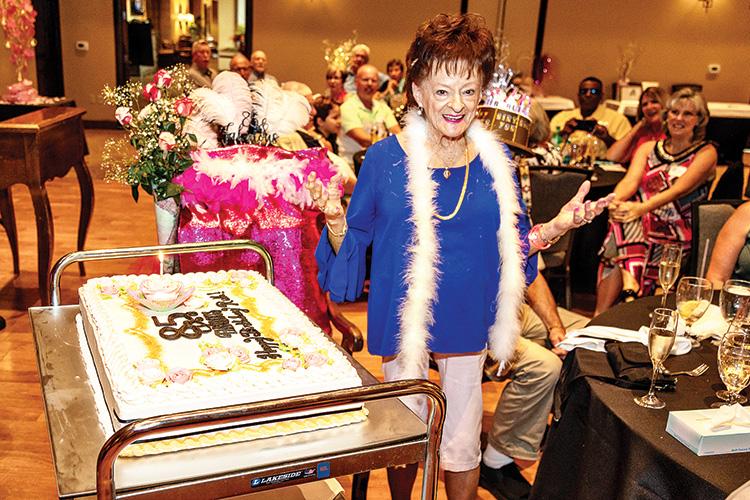 Ruth McDermott celebrates her 85th birthday.
