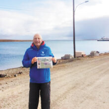 August excursions found Rick Thorpe in Cambridge Bay, Nunavut, Canada.