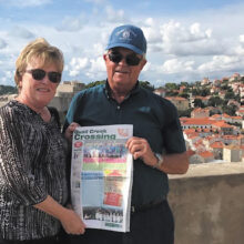 Jana and Doug McNeil couldn't pass up taking their Crossing to Dubrovnik, Croatia earlier this month.