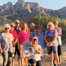 """On the Road Again""...Kathy Kelley and QC RV Club friends enjoyed cooler fall temps at Catalina State Park."