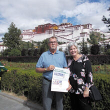 The Far East found Julie and Scott McLain and the Crossing in Tibet and China.