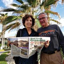 Dave and Linda Carver in Puerto Penasco.